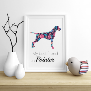 Plakat - Pointer Flowers